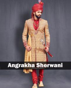 Angrakha Sherwani