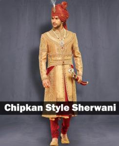 chipkan style sherwani