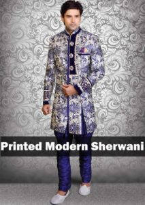 indigo-blue-printed-modern-sherwani