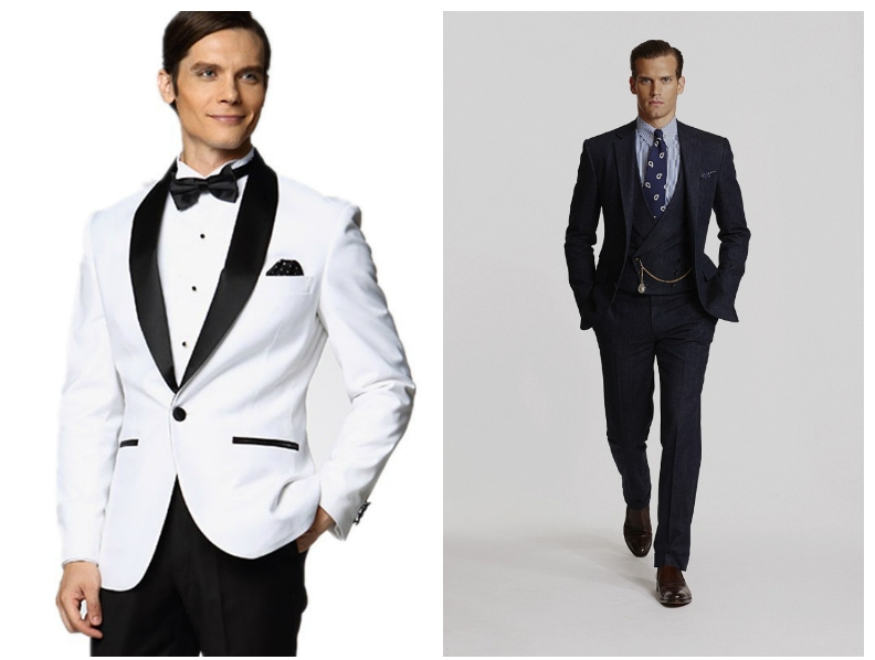 triple men suits