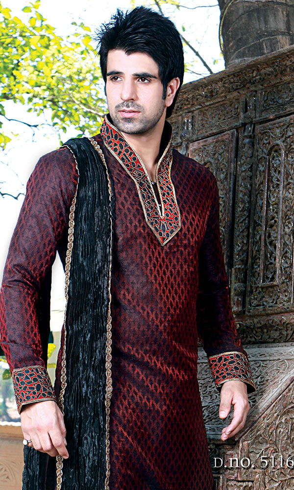 royal kurta pajma design for men