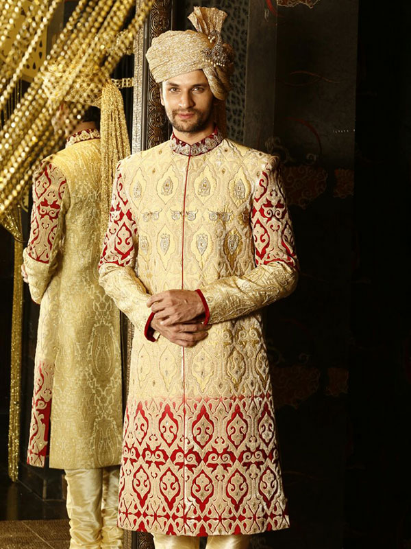 wedding sherwani design for groom