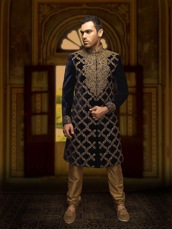 wedding sherwani design